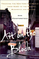 art on the block                                               ann fensterstock