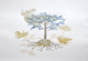 tree art chine colle print susan graham