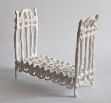 susan graham edition                                               ceramic porcelain bed                                               insomnia
